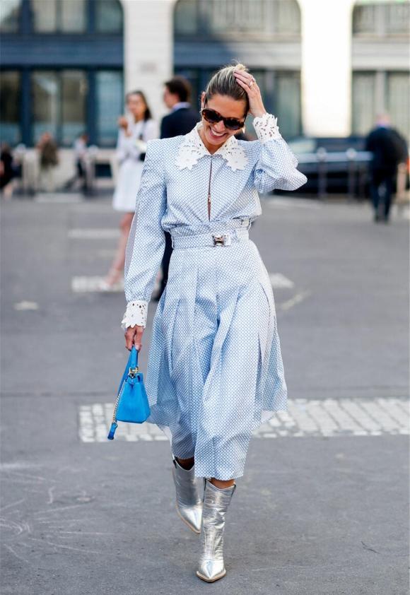 thời trang đẹp, làm thế nào để làn da trông trắng khi mặc váy, lưu ý khi mặc váy