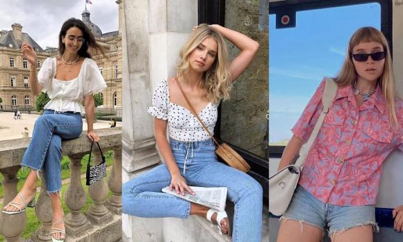 thời trang đẹp, quần jean, mặc quần jean vào mùa hè
