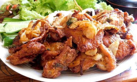 gà rang muối, công thức làm gà rang muối, món ngon từ gà