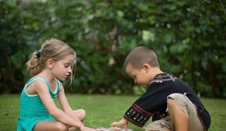 chăm trẻ, dạy trẻ