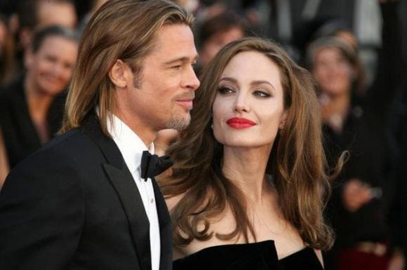 Angelina Jolie và Brad Pitt,  Angelina Jolie ly hôn, sao hollywood