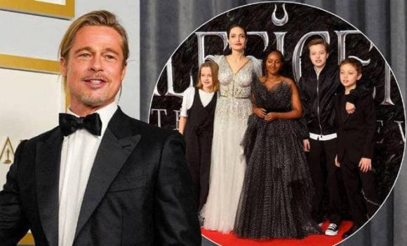 Brad Pitt được quyền nuôi con chung với Angelina Jolie sau ly hôn.
