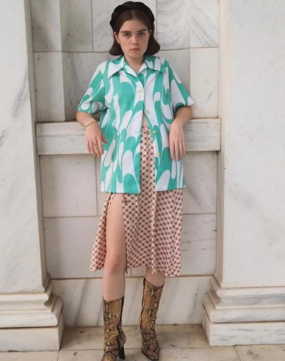 váy xẻ tà, thời trang đẹp, mix đồ với váy xẻ tà cho nữ