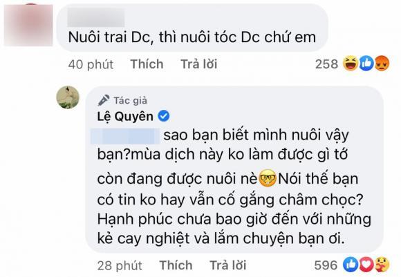 Lệ Quyên, Lâm Bảo Châu, ca sĩ Lệ Quyên