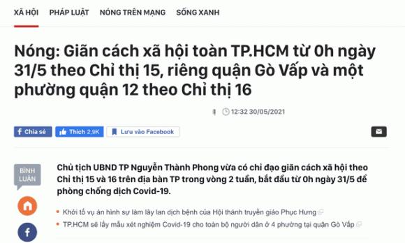 Vũ Khắc Tiệp, đại sứ cách ly, sao Việt, Covid-19