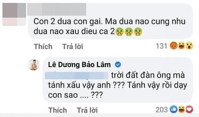 Lê Dương Bảo Lâm, Quỳnh Quỳnh, Dìm hàng, Sao Việt