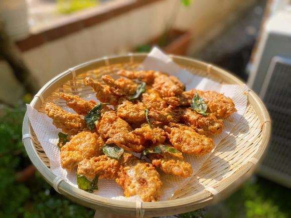 cánh gà chiên, cánh gà chiên trứng muối, món ngon từ thịt gà