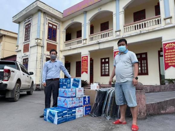cách ly, băng vệ sinh, công nhân, Bắc Giang