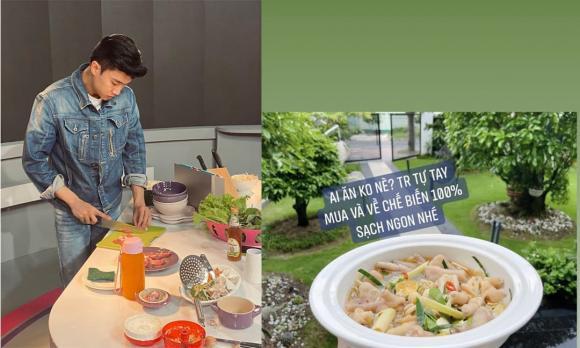 Quốc Trường, Quốc Trường nấu mì vịt tiềm, cách nấu mì vịt tiềm