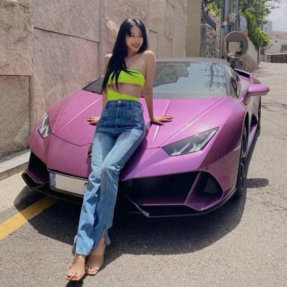 siêu xe Lamborghini, han ye seul, sao hàn