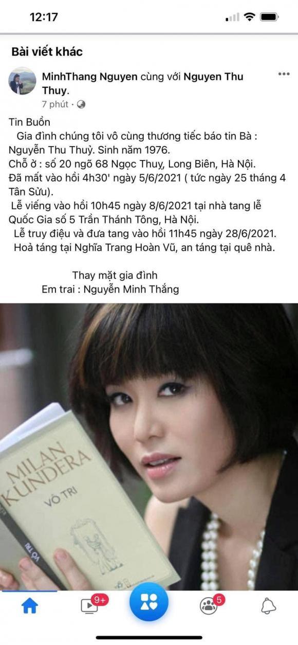 hoa hậu Thu Thủy , sao Việt, qua đời, hoa hậu việt nam 1994