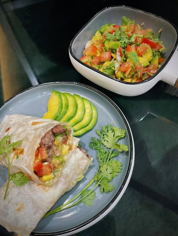 MC Thu Hoài, Burrito, món ăn Mexico
