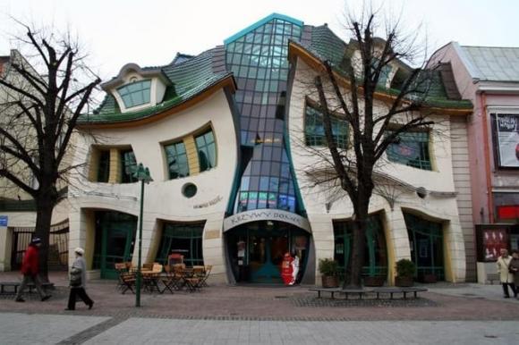 ngôi nhà độc, thiết kế sáng tạo