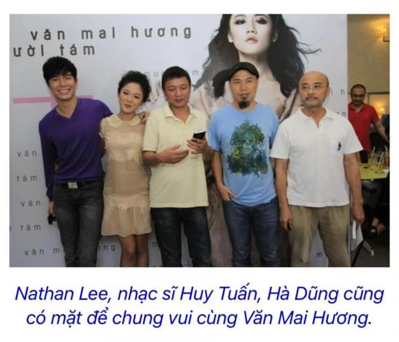 Nathan Lee, Văn Mai Hương, sao việt