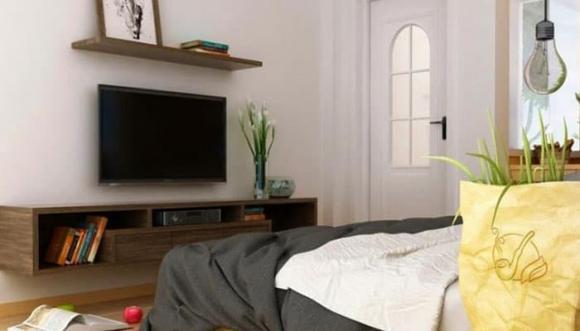 phong thủy, phong thủy tivi, có nên đặt ti vi trong phòng ngủ, không nên đặt tivi trong phòng ngủ, phong thủy phòng ngủ