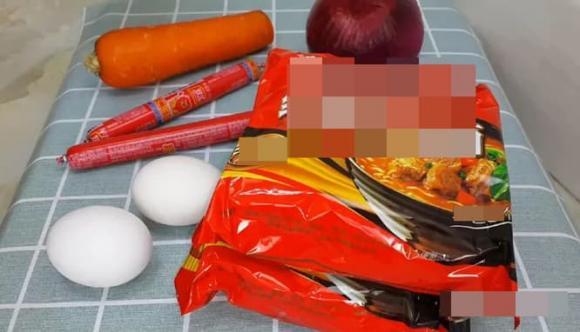 mì ăn liền, mì xào, mì tôm, dạy nấu ăn
