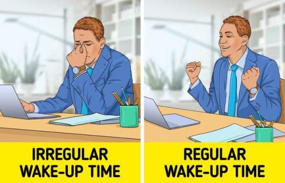 thói quen lành mạnh, thói quen khi thức dậy, kiến thức