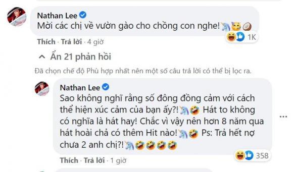 Nathan Lee, Thu Minh, Tóc Tiên