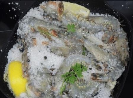 Tôm rang muối tiêu, dạy nấu ăn, món ngon