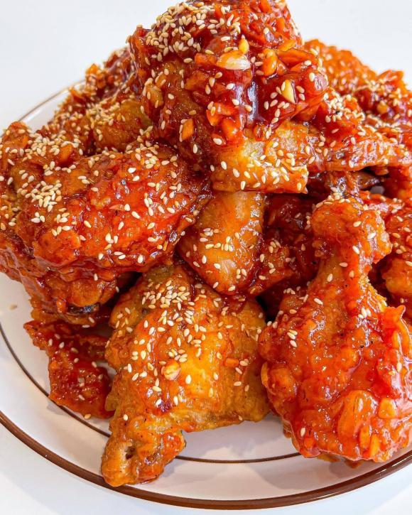 các món ngon từ gà, gà rán sốt, món ngon