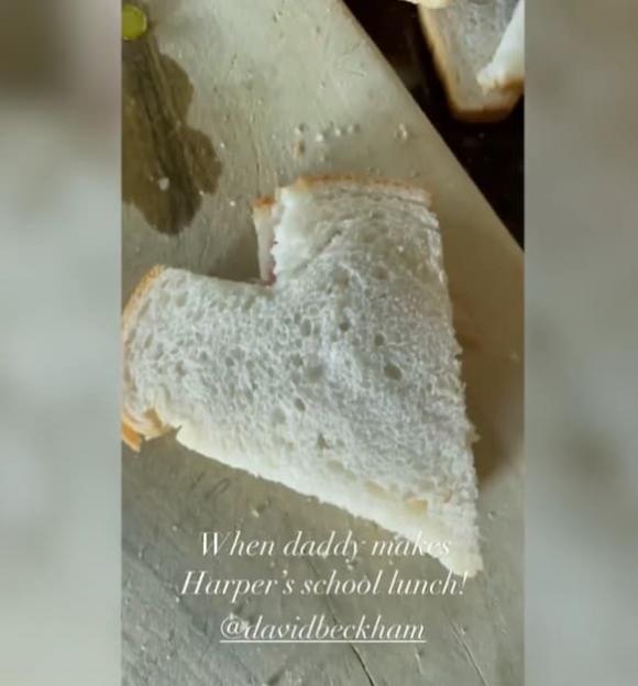 david beckham, harper seven, đồ ăn, sao hollywood