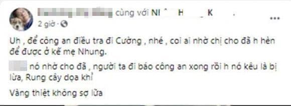 Hồ Văn Cường, Phi Nhung, cầu cứu công an, quay clip xin lỗi,