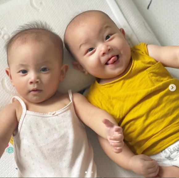 ca sĩ Hồ Ngọc Hà, sao Việt, cặp song sinh của Hà Hồ