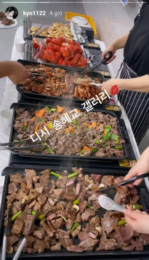 song hye kyo, đồ ăn, khách sạn hạng sang, sao hàn