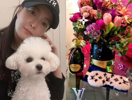 kim hee sun, phụ kiện, sinh nhật, sao hàn