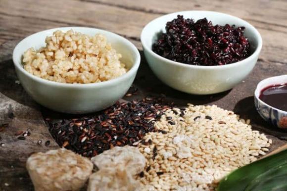 cơm rượu nếp cẩm, Tết Đoan Ngọ, bí quyết nấu ăn, món ăn ngon