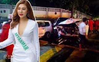 Người thân đau đớn bật khóc trong lễ tang Hoa hậu Chuyển giới Myanmar