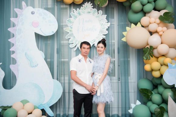 Thanh Tú, sinh nhật con trai Thanh Tú, sao Việt