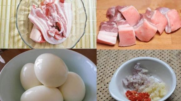 thịt kho tàu, cách làm thịt kho tàu, món ngon