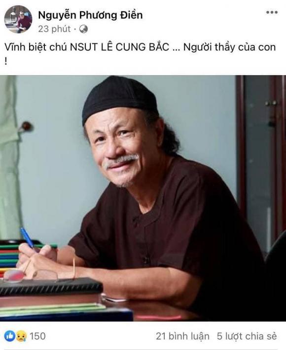 NSƯT Lê Cung Bắc, Đạo diễn Nguyễn Phương Điền, Nguyệt Ánh