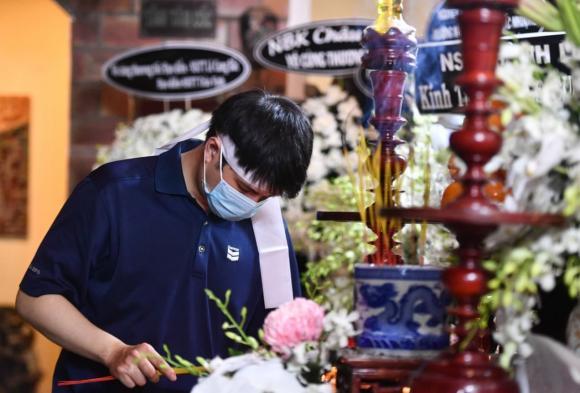 đạo diễn Lê Cung Bắc, lễ tang đạo diễn Lê Cung Bắc, sao Việt