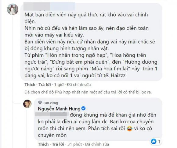 Mùa hoa tìm lại, Mạnh Hưng, phim Việt