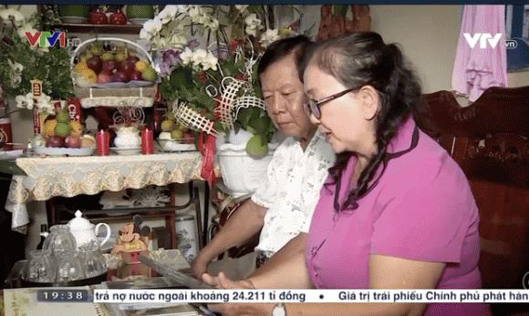 Trang Trần, Mẹ cố ca sĩ Vân Quang Long, VTV đưa tin