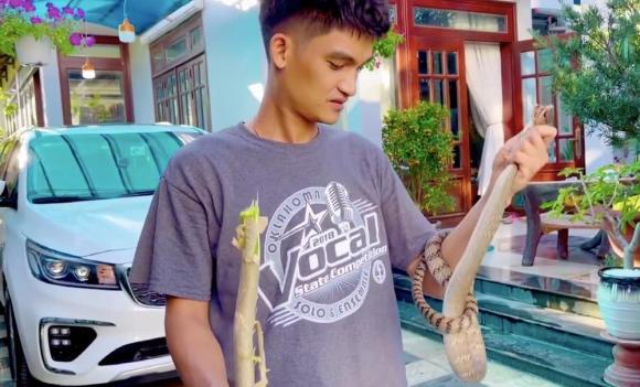 Mạc Văn Khoa, tay không bắt rắn, sao Việt