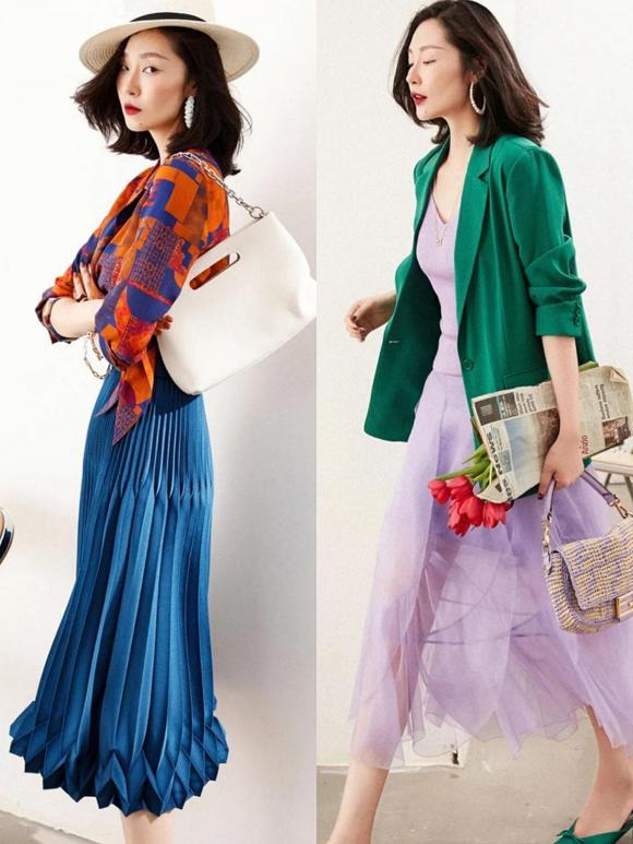 thời trang đẹp, màu sắc mùa hè, cách phối màu đẹp