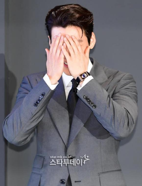 kim woo bin, chú rể, xấu hổ, sao hàn