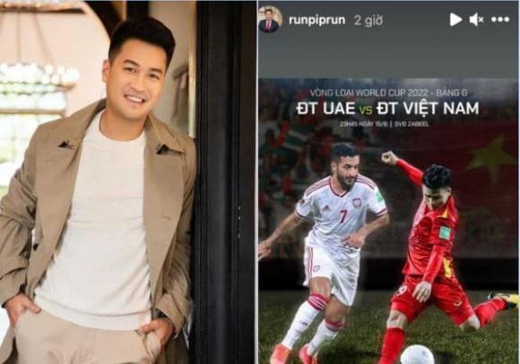 Việt Nam đấu UAE, ĐT Việt Nam, sao việt động viên ĐT Việt Nam