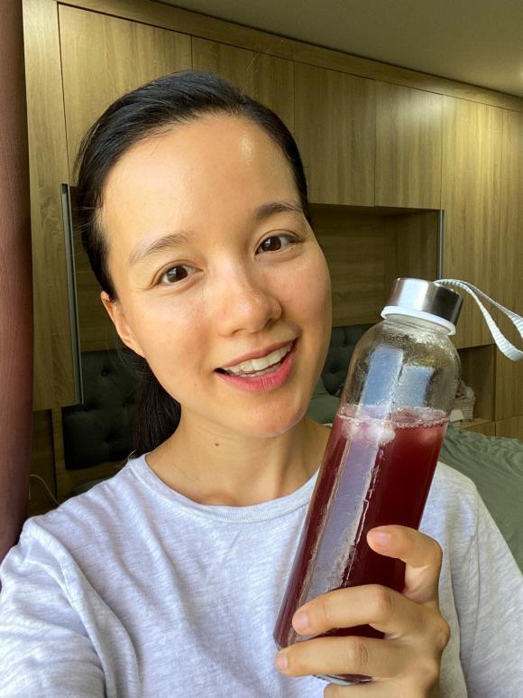nước lá tía tô, MC Minh Trang, Minh Trang