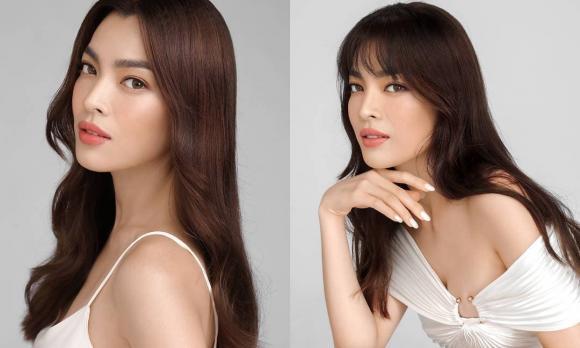 Hoa hậu Trân Đài, Nàng hậu, Khoe dáng ở Mỹ, Sao Việt
