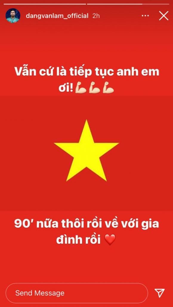 Đặng Văn Lâm, Bùi Tiến Dũng, đội tuyển bóng đá Việt Nam