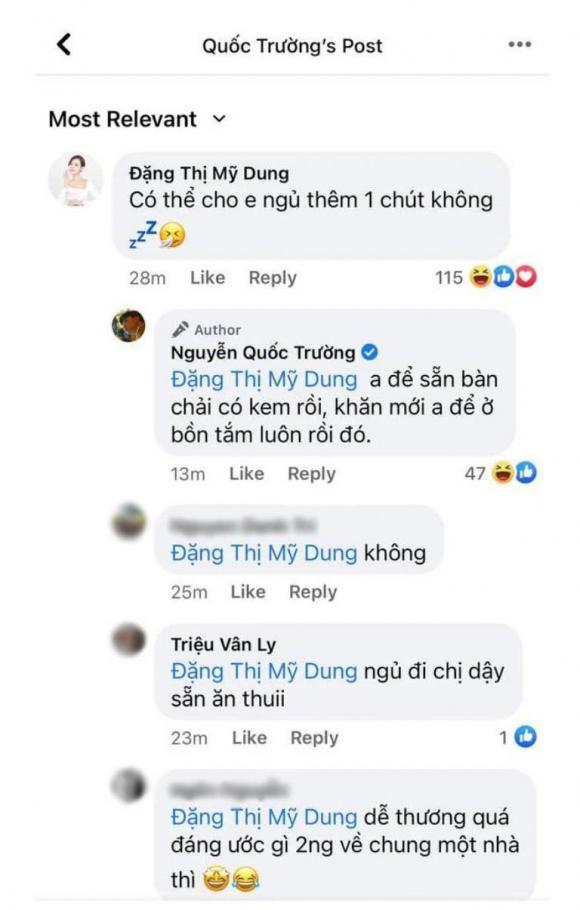 diễn viên Midu, diễn viên Quốc Trường, sao Việt