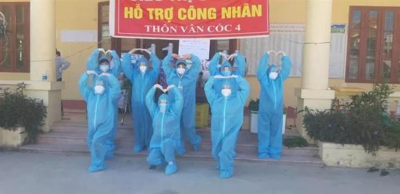 Covid-19, tình nguyện viên, Bắc Giang, bộ đồ bảo hộ