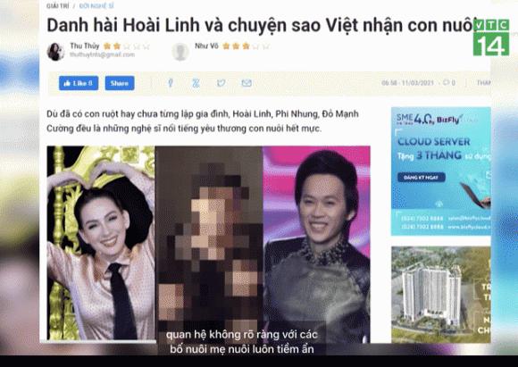 Phi Nhung, NSƯT Hoài Linh, Sao Việt
