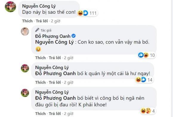 Phương Oanh, Công Lý, sao Việt