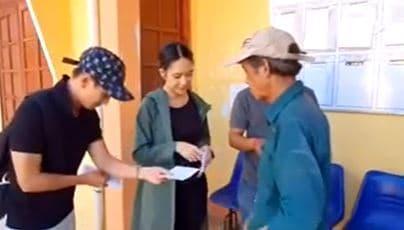 Lý Hải, Minh Hà, Từ thiện