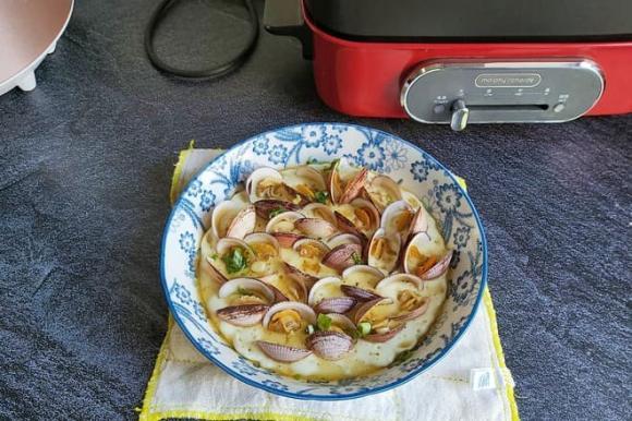 ngao hấp, nghêu hấp, dạy nấu ăn, mẹo nấu ăn, món ăn mới, trứng hấp ngao